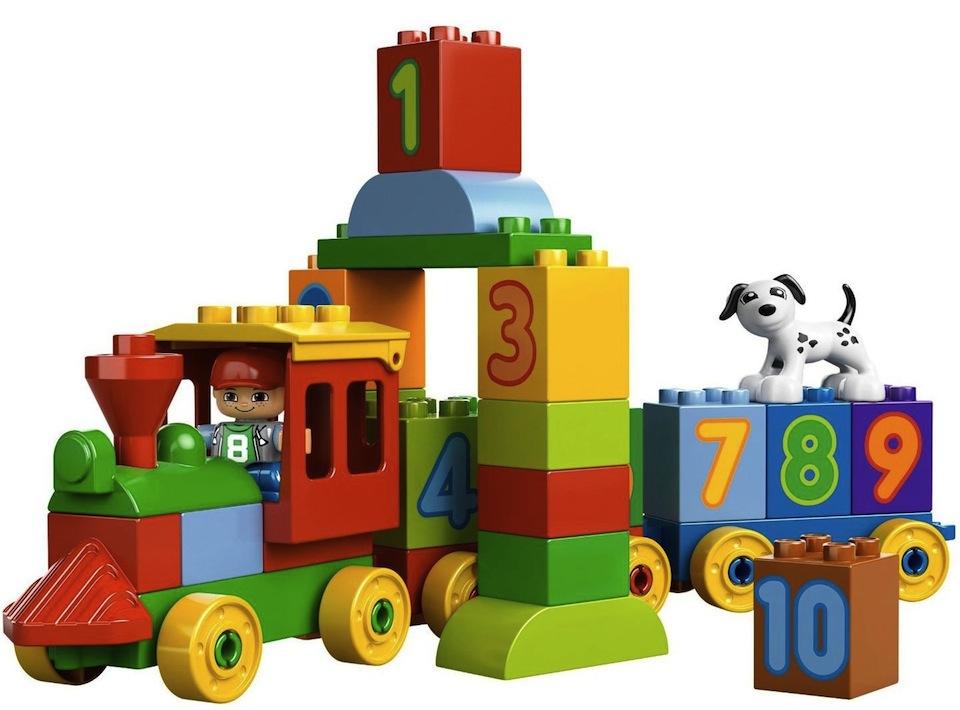 Cadou de Craciun LEGO® DUPLO® Trenul cu numere 10558