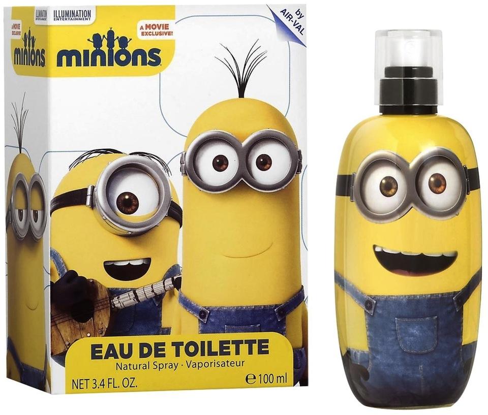 Cadou de Craciun Parfum Minions pentru copii