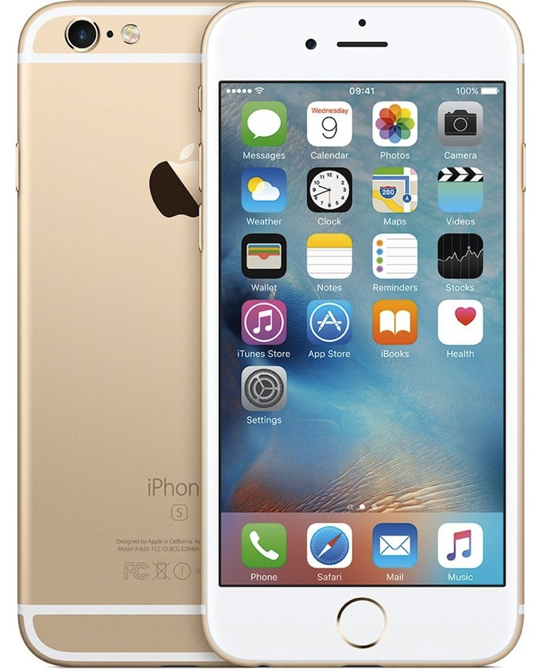 Cadou de Craciun iPhone 6S, 64GB, Auriu