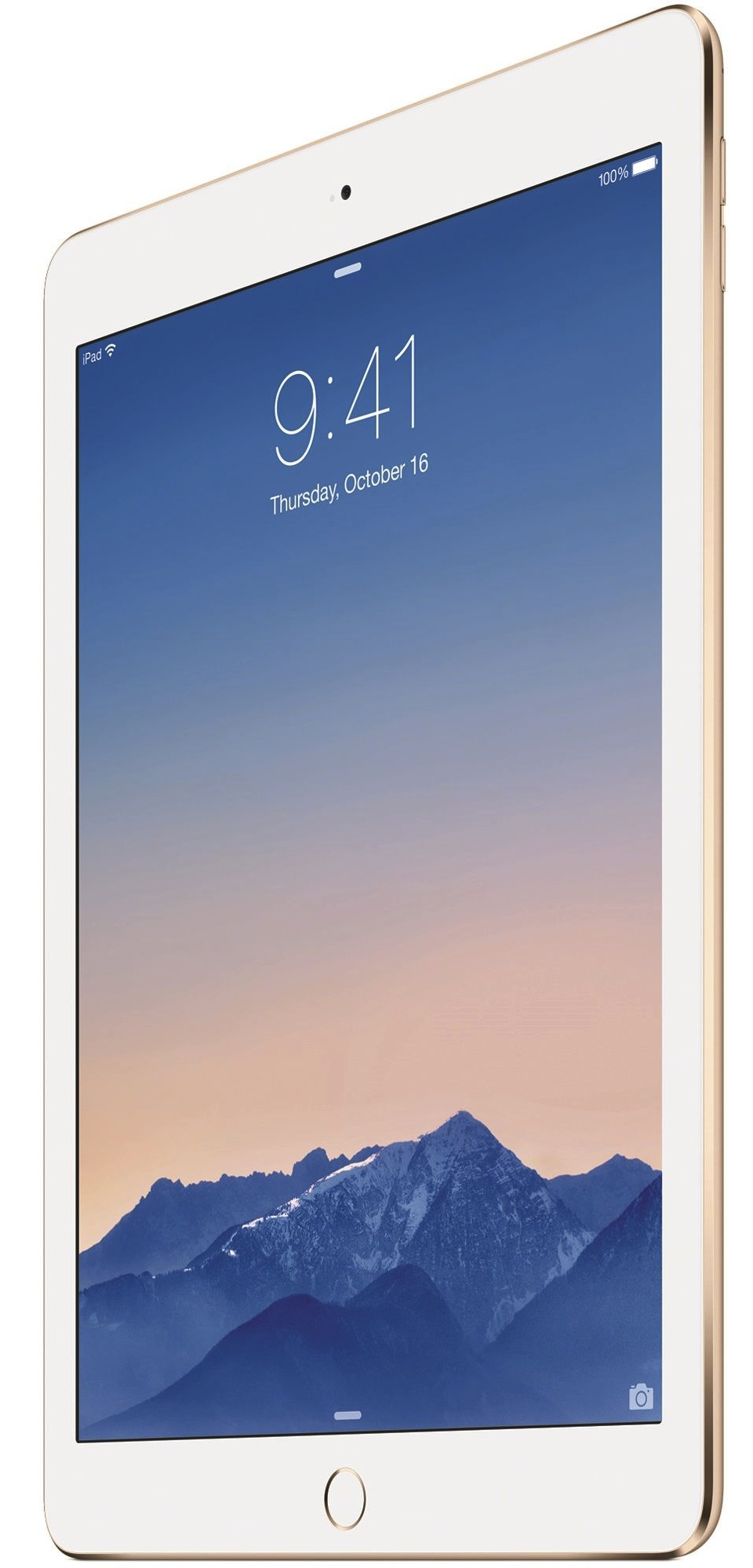 Cadou de Craciun Apple iPad Air 2, 64GB, Wi-Fi, Auriu