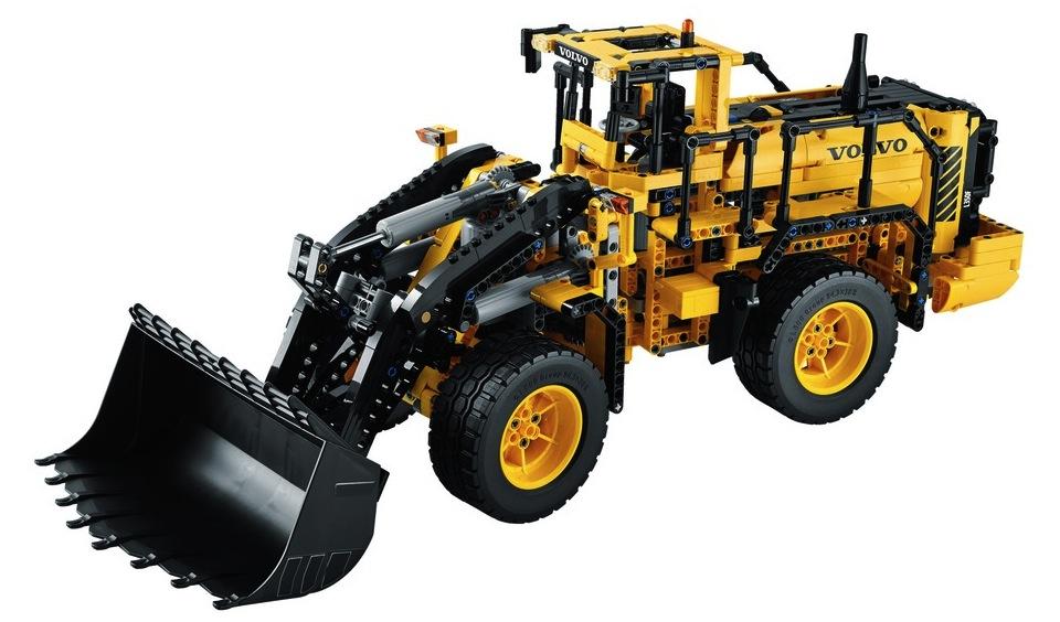 Cadou de Craciun Incarcator cu Roti VOLVO L350F Teleghidat LEGO Technic