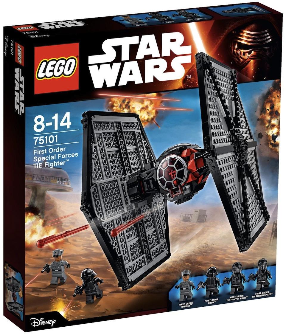 Cadou de Craciun LEGO® Star Wars™ TIE fighter™ Fortele speciale ale Ordinului Intai 75101