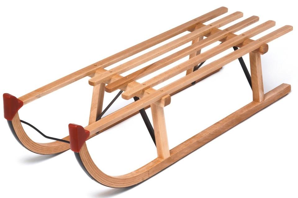 Cadou de Craciun Sanie de lemn