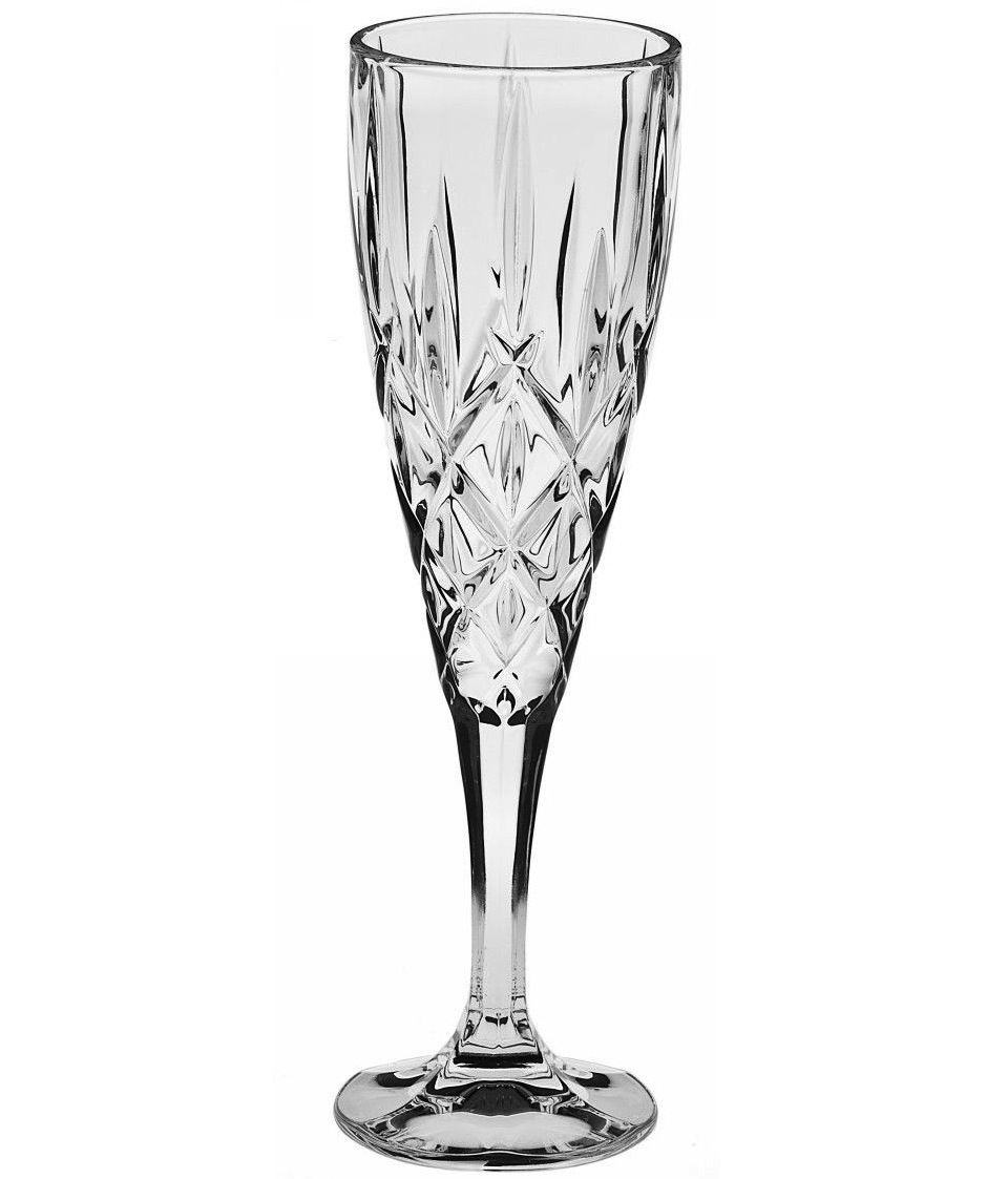 Cadou de Craciun Set Pahare de Cristal de Sampanie Sheffield