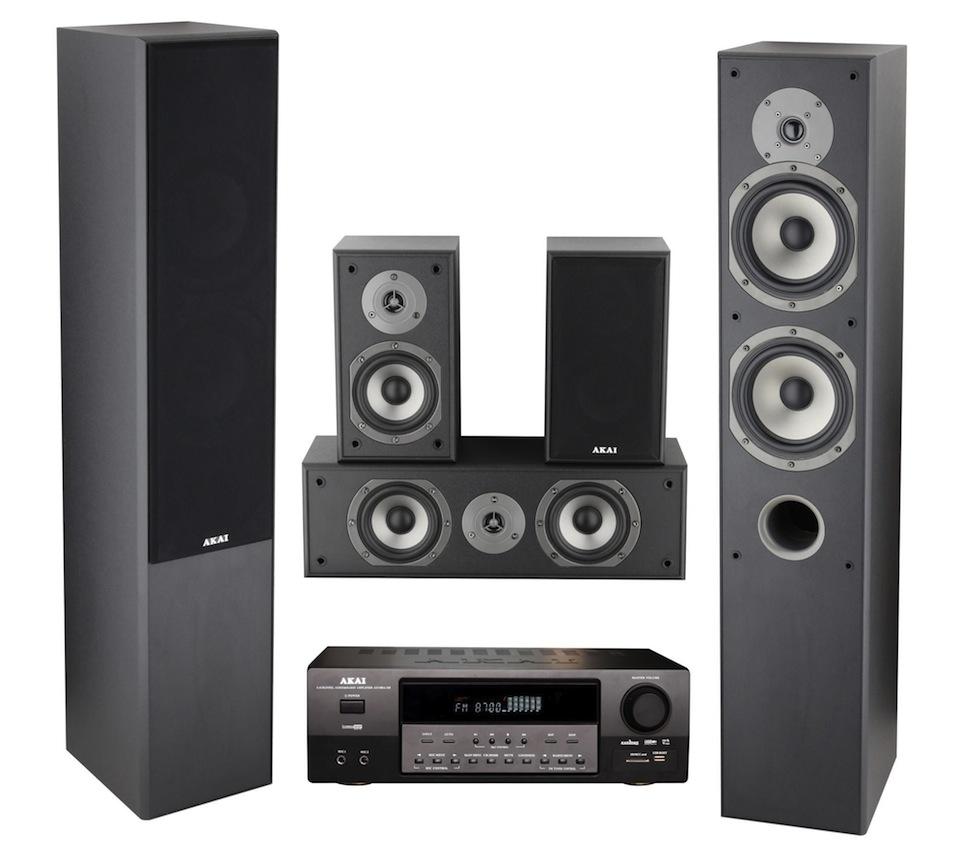 Cadou de Craciun Sistem Audio Petrecere 5.0 Akai 135W RMS