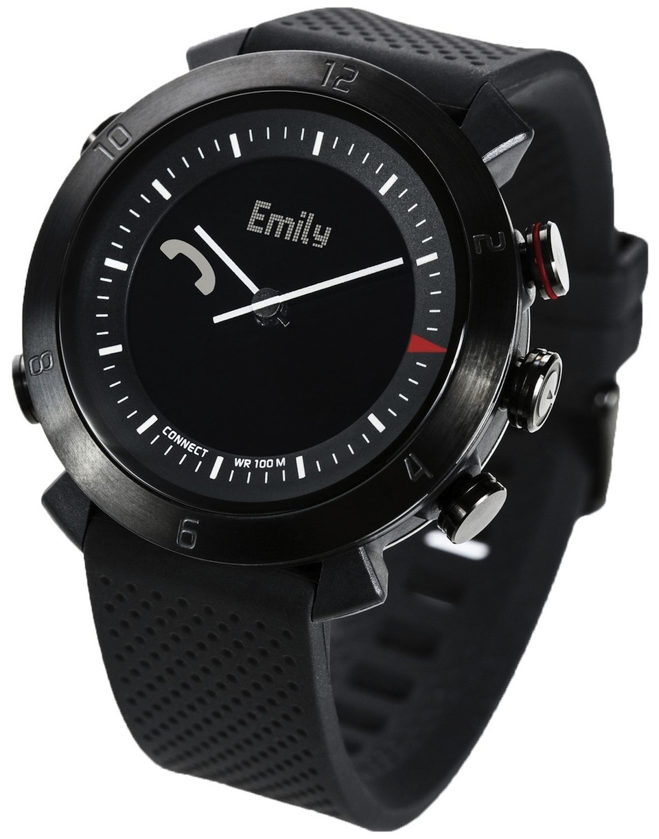 Cadou de Craciun Smartwatch Ceas Cogito Classic, Negru