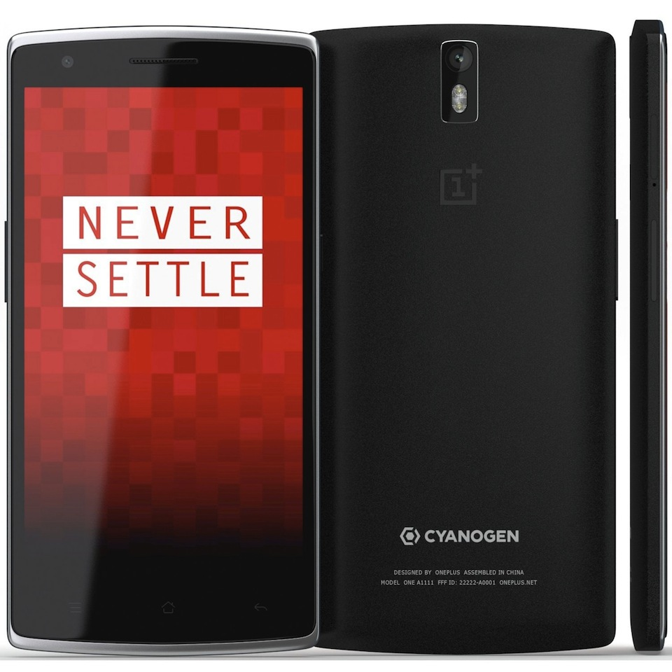 Cadou de Craciun Telefon mobil 4G Oneplus One, 64GB, Negru