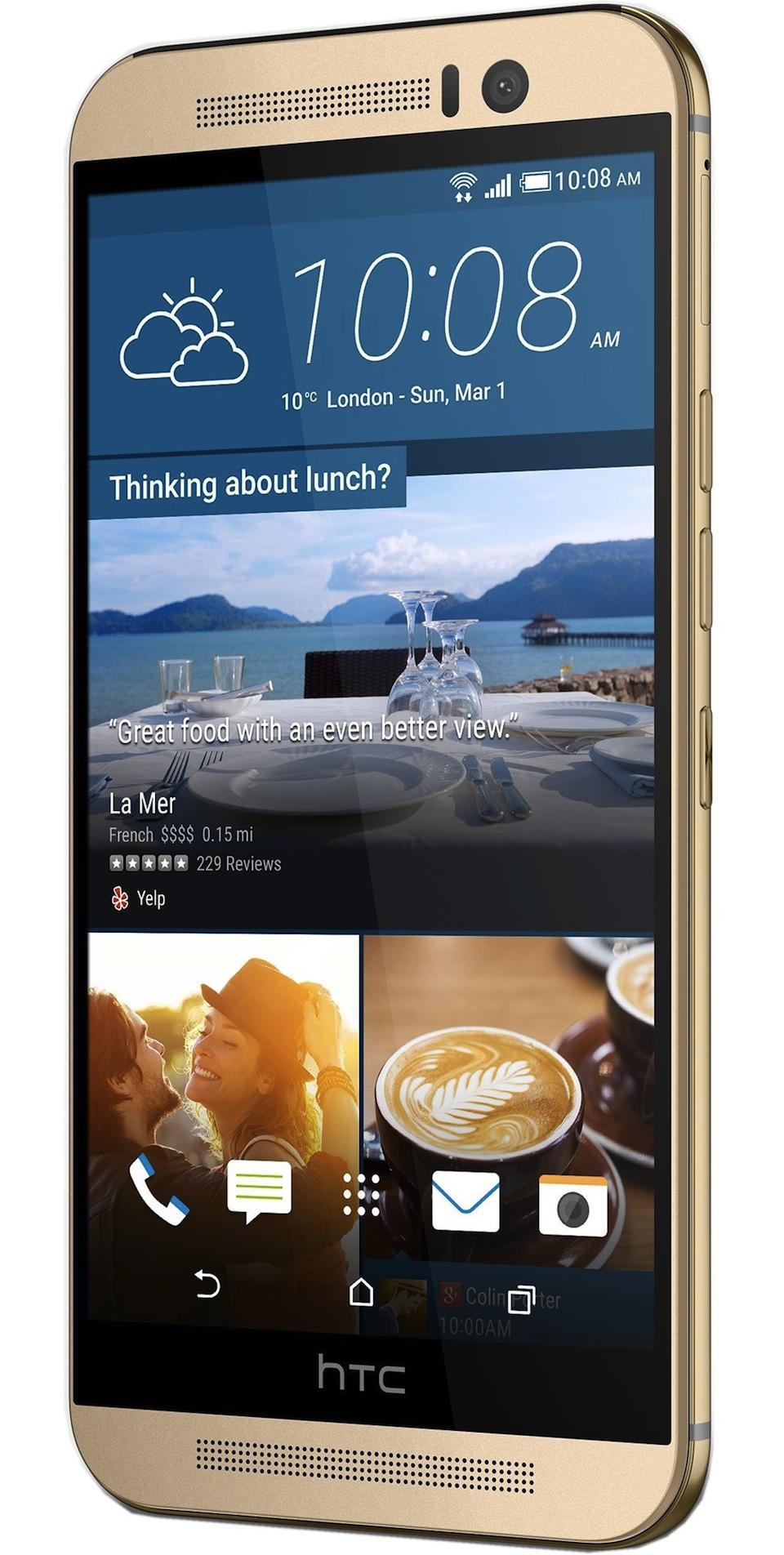 Cadou de Craciun Telefon mobil HTC One M9, 64GB, 4G, Auriu