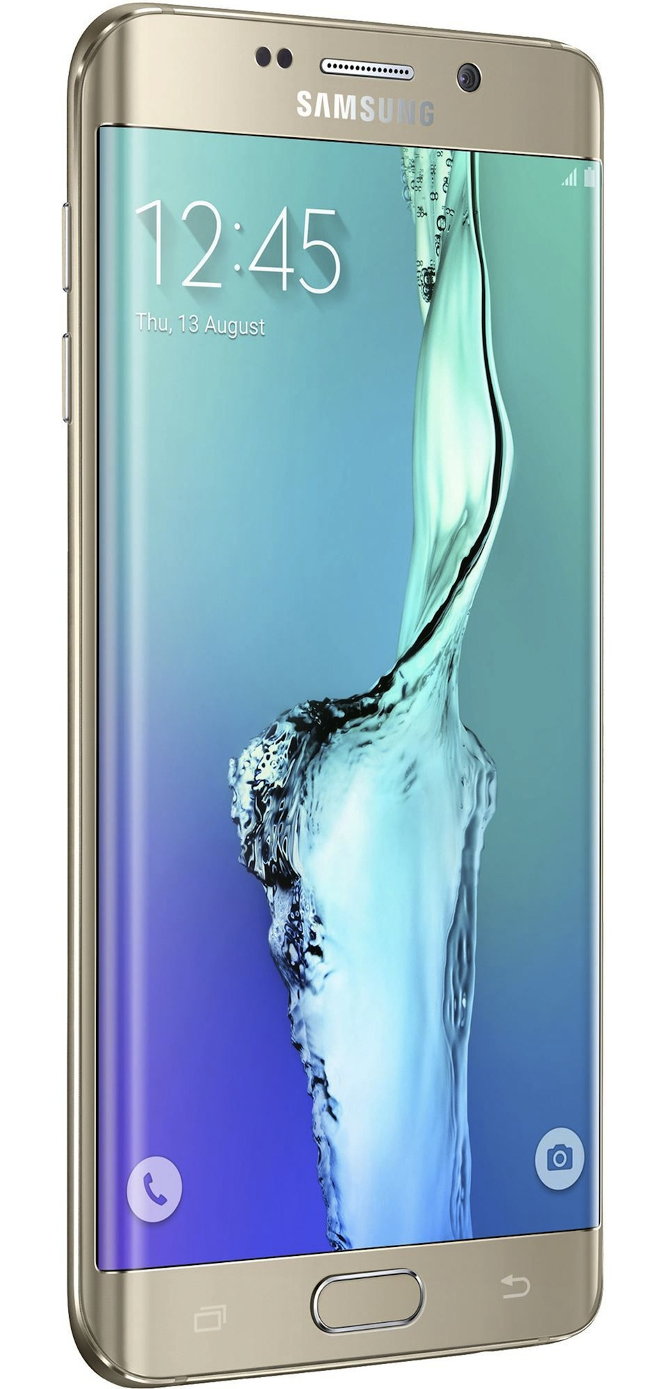 Cadou de Craciun Telefon mobil Samsung G928 GALAXY S6 Edge Plus Auriu