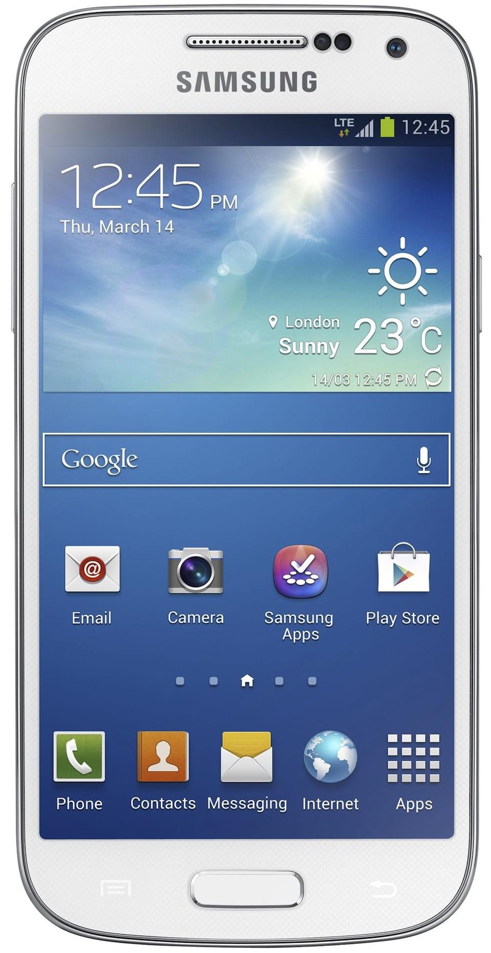 Cadou de Craciun Telefon mobil Samsung I9195i Galaxy S4 Mini 8GB, 4G, Alb