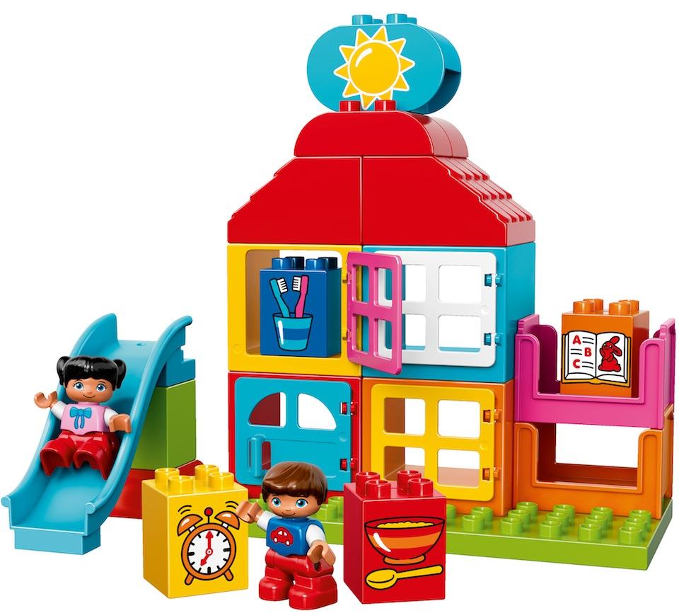 Cadou de Craciun LEGO® DUPLO® Prima mea casa de joaca 10616