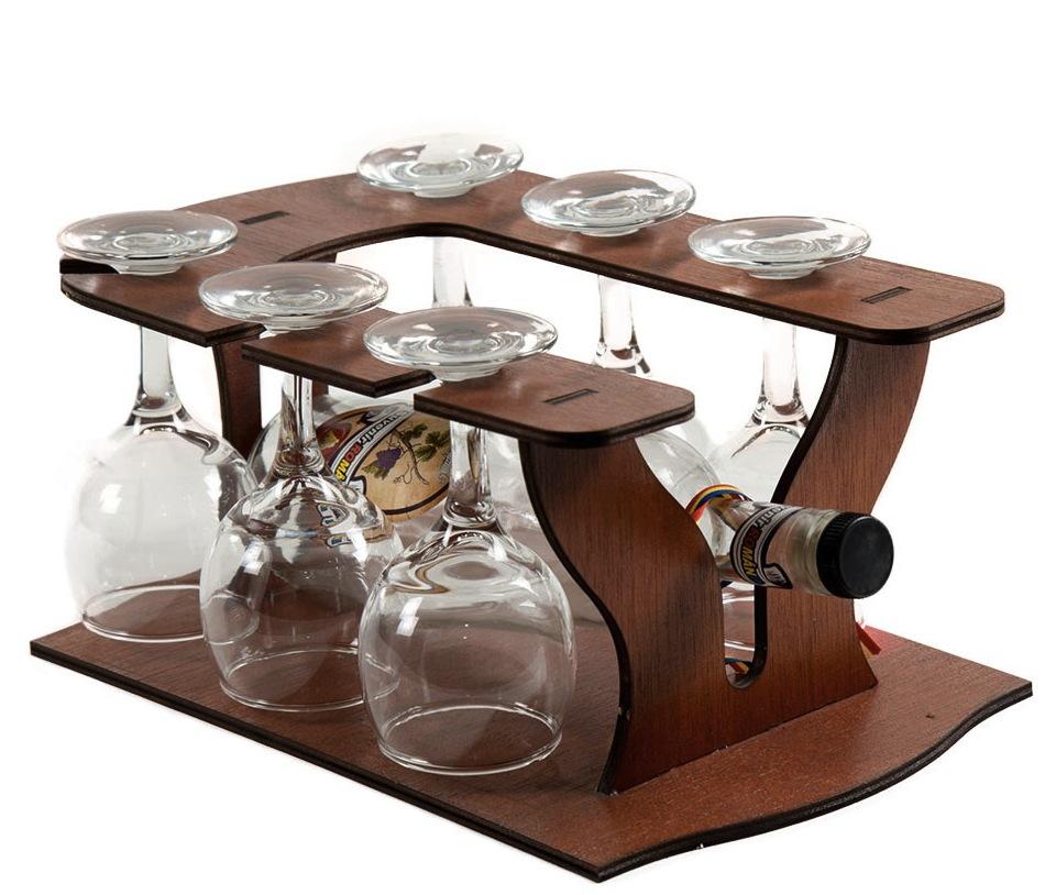 Cadou de Craciun Minibar din lemn de cedru