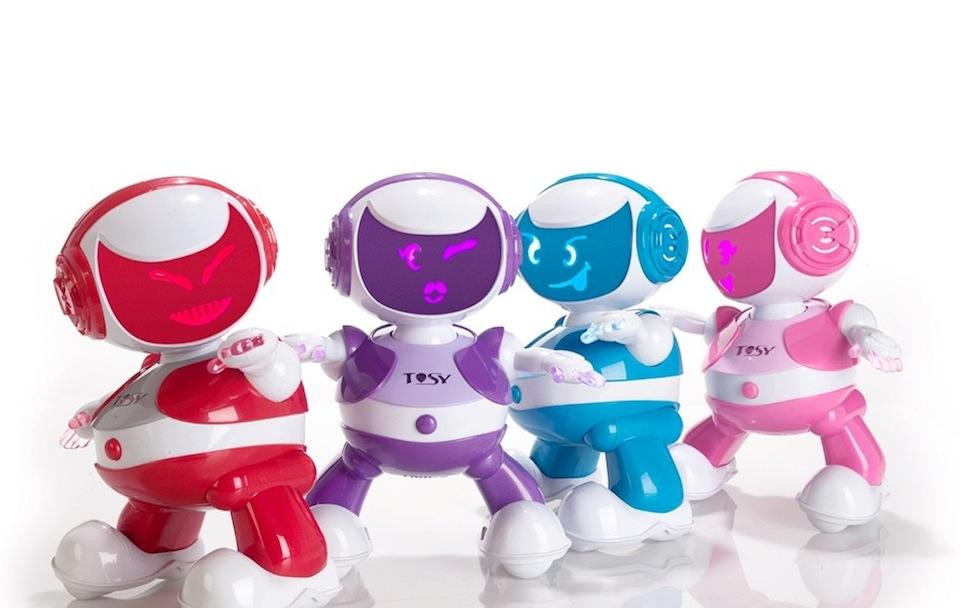 Cadou de Craciun Robot dansator Disco Robo TOSY