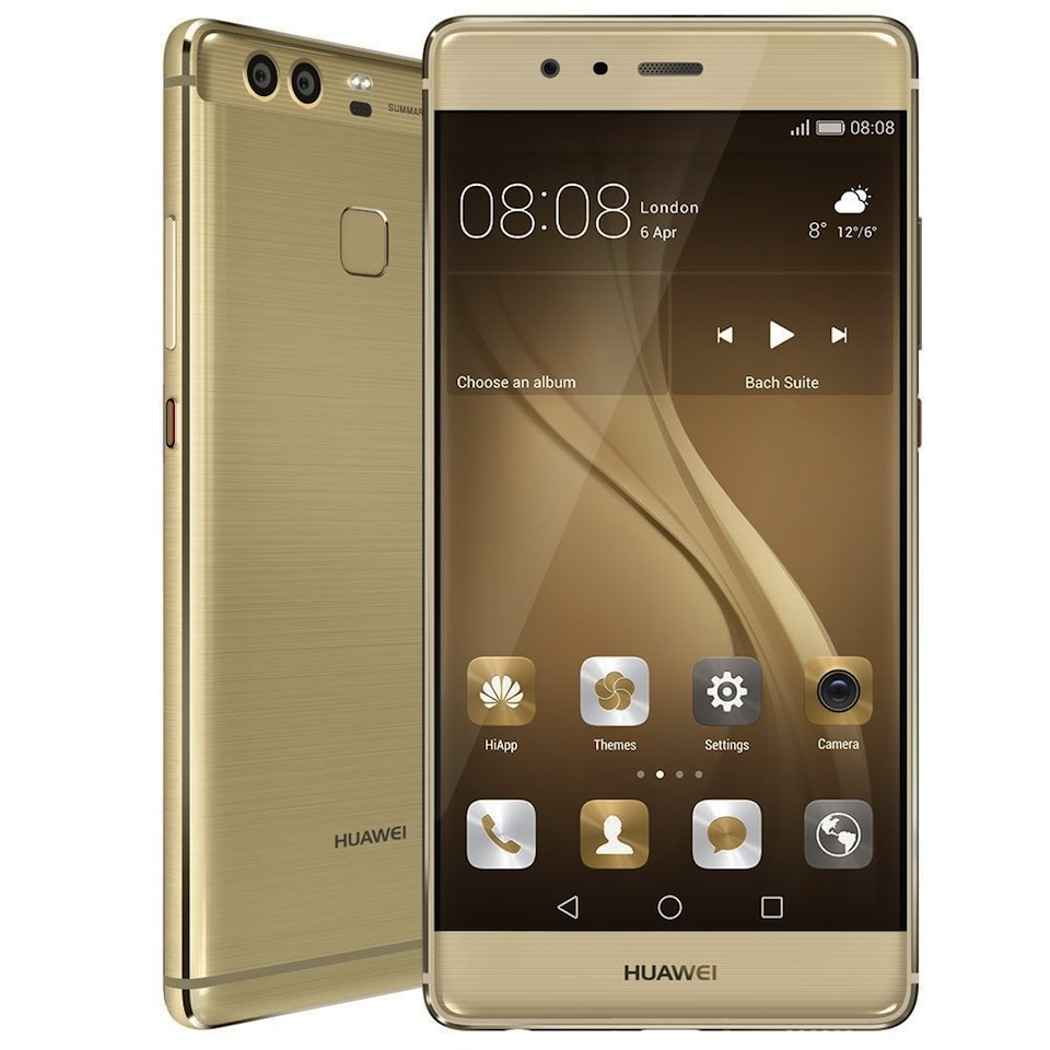 Cadou de Craciun Telefon Huawei P9 auriu 32GB, 4G