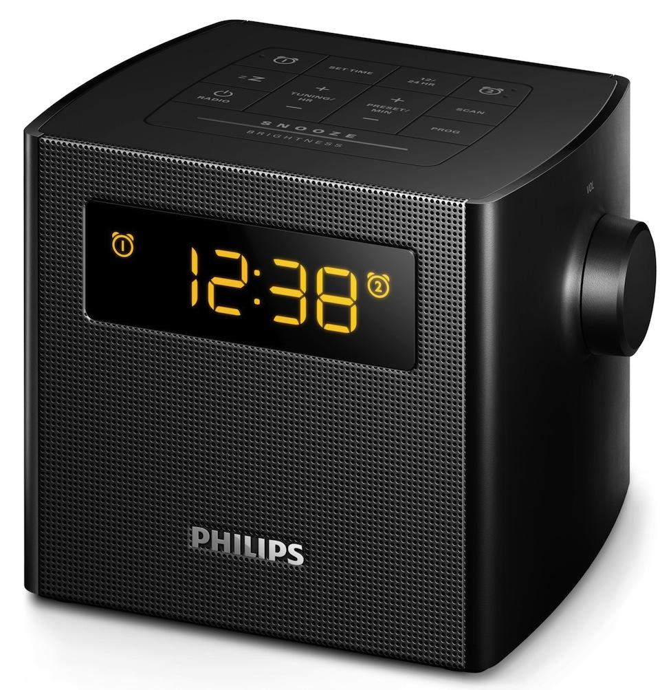 Cadou de Craciun Radio cu ceas Alarma Philips AJ4300B