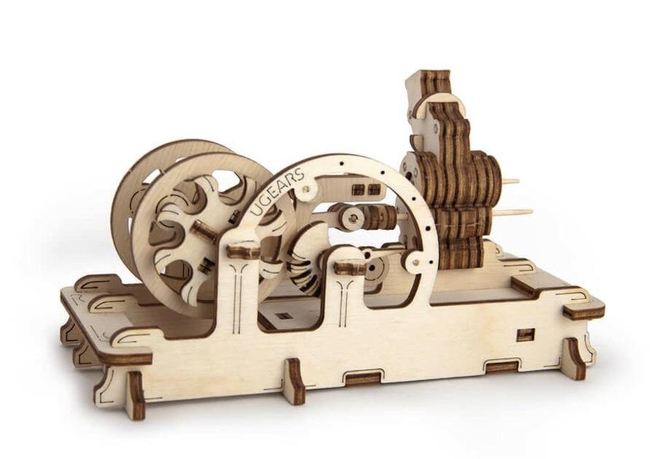 Puzzle 3D Motor Mecanic UGEARS