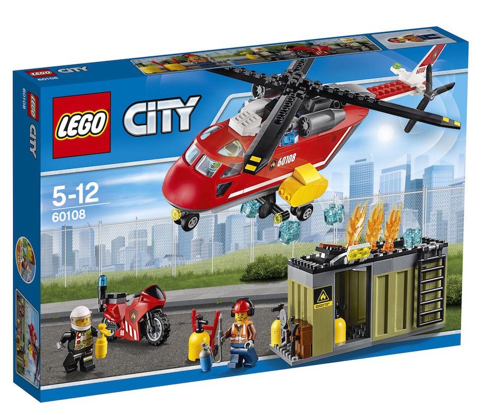 LEGO® City Unitatea de interventie de pompieri